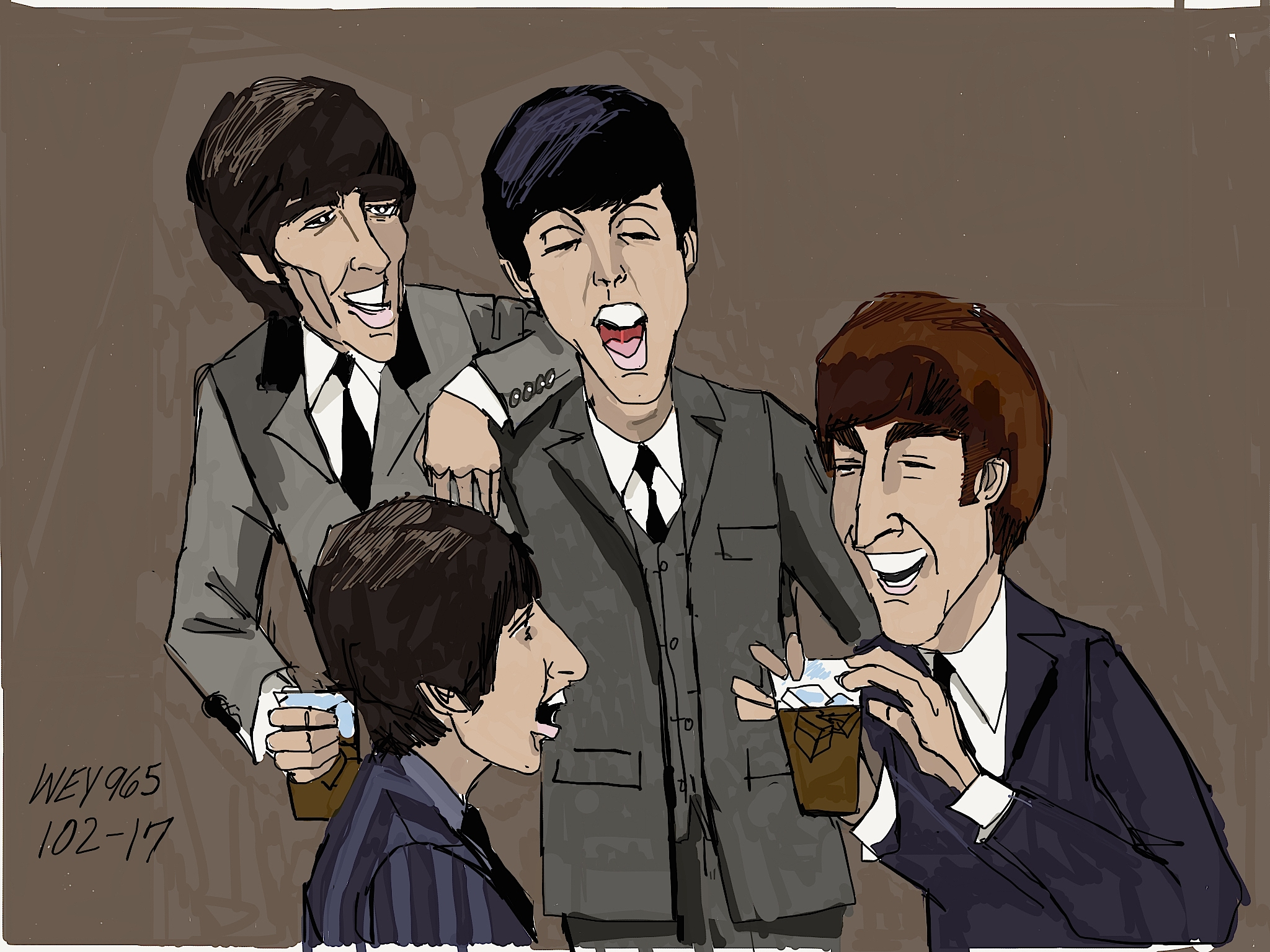 128: The Beatles, Paul McCartney (and added Attraction) from
