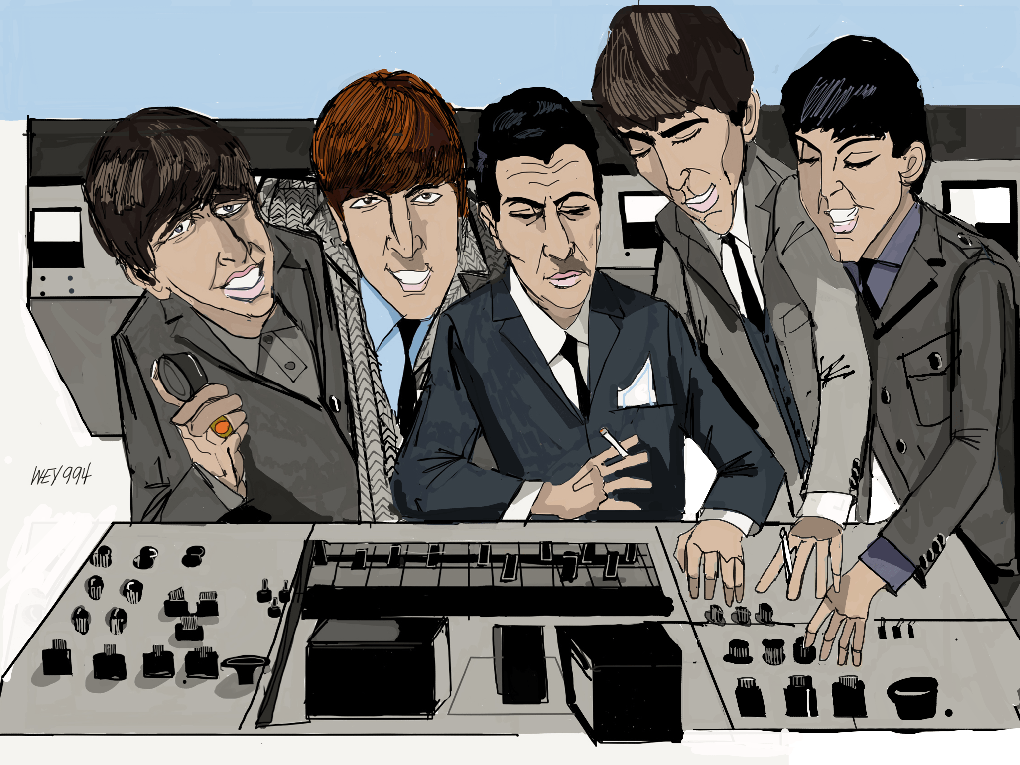 how to play something beatles